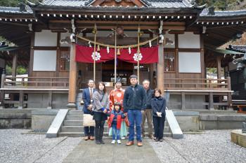 白山比咩神社地鎮祭 | 岩国市で新築一戸建て注文住宅ならネストハウス