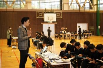 由宇小学校職業講話 | 岩国市で一戸建てならネストハウス