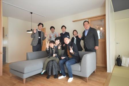 大竹市新築完成お引渡し式 | 岩国市で新築一戸建てならネストハウス