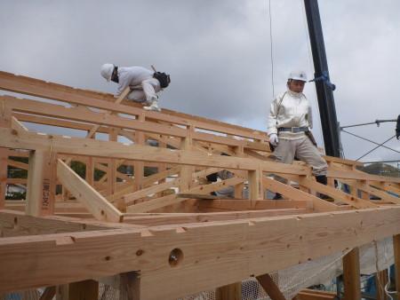 上棟式 | 岩国市で新築一戸建てならネストハウス