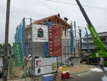 岩国市黒磯町で上棟式 | 岩国市で戸建て注文住宅ならネストハウス
