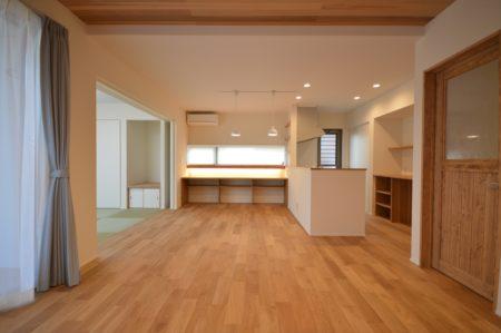 平屋新築施工事例 | 柳井市で平屋住宅ならネストハウス