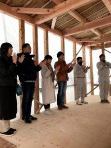 大竹市で上棟式 | 大竹市で注文住宅ならネストハウス
