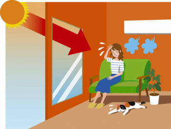 日差し対策 | 岩国市でリフォームならネストハウス